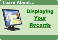 Displaying Your Records